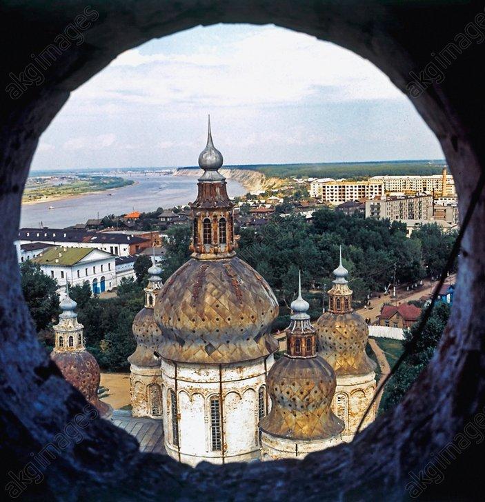 Купола Софийско-Успенского собора 1976