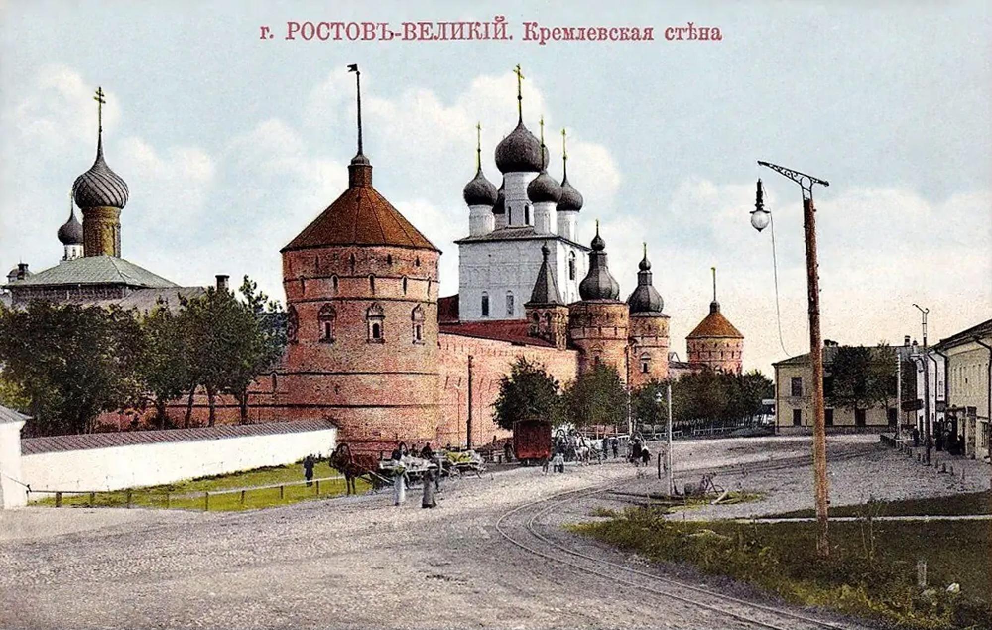 Ростов. Кремль с северо-запада2