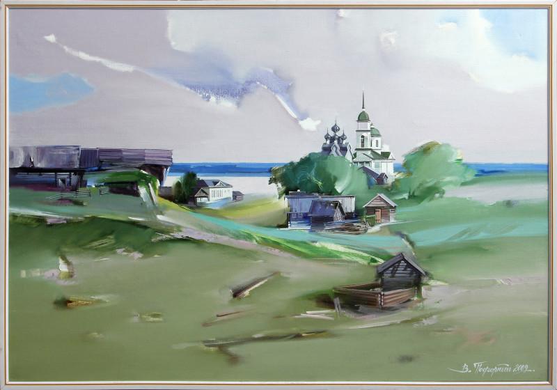 Палтога (по мотивам фотографий С.М. Прокудина-Горского). Художник Виктор Подгорный