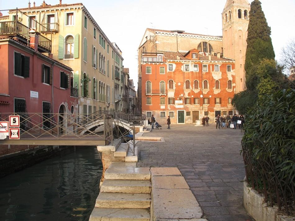 Venece 1906 Campiello San-Vidal