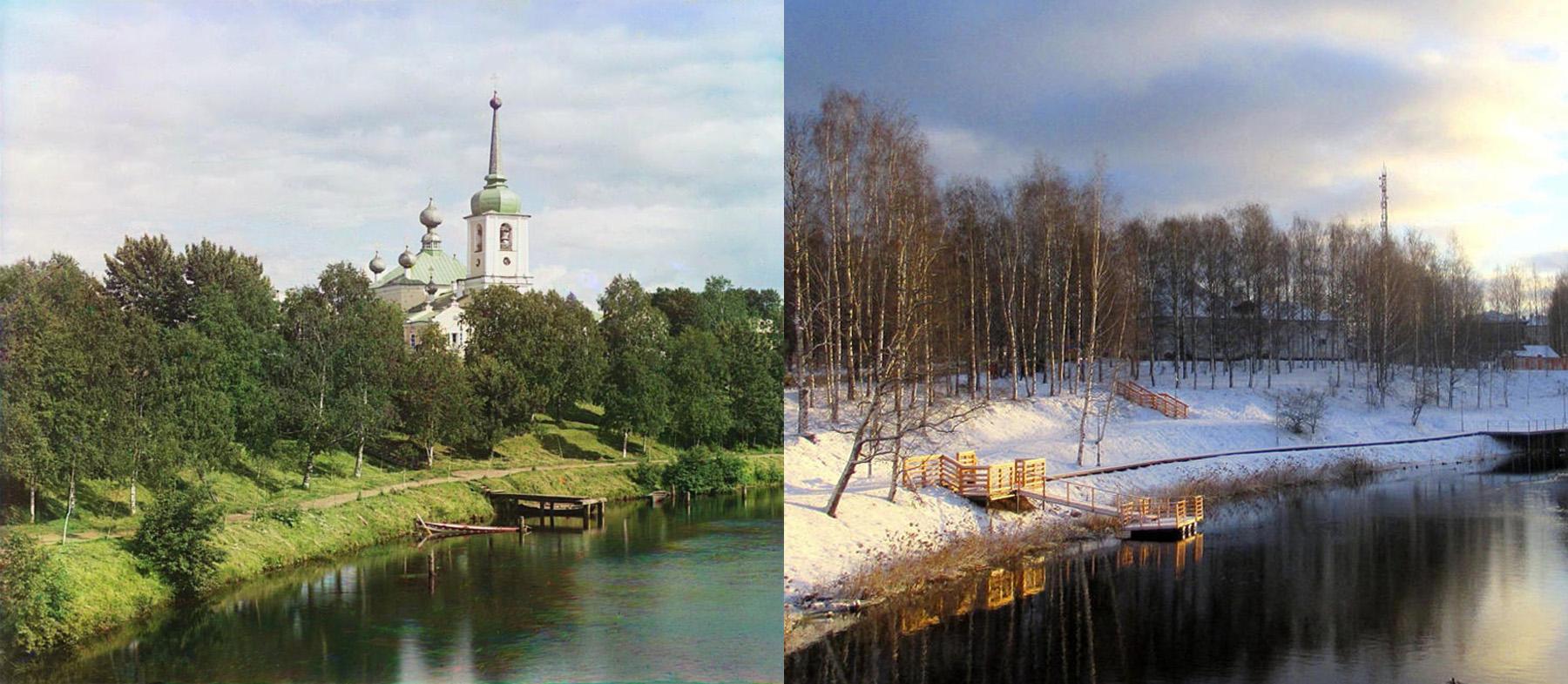 Воскресенский собор в Вытегре 1909-2019