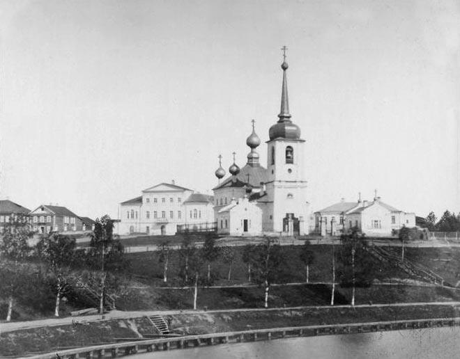1881 Вытегра Воскресенский собор Ярослав Пекарский