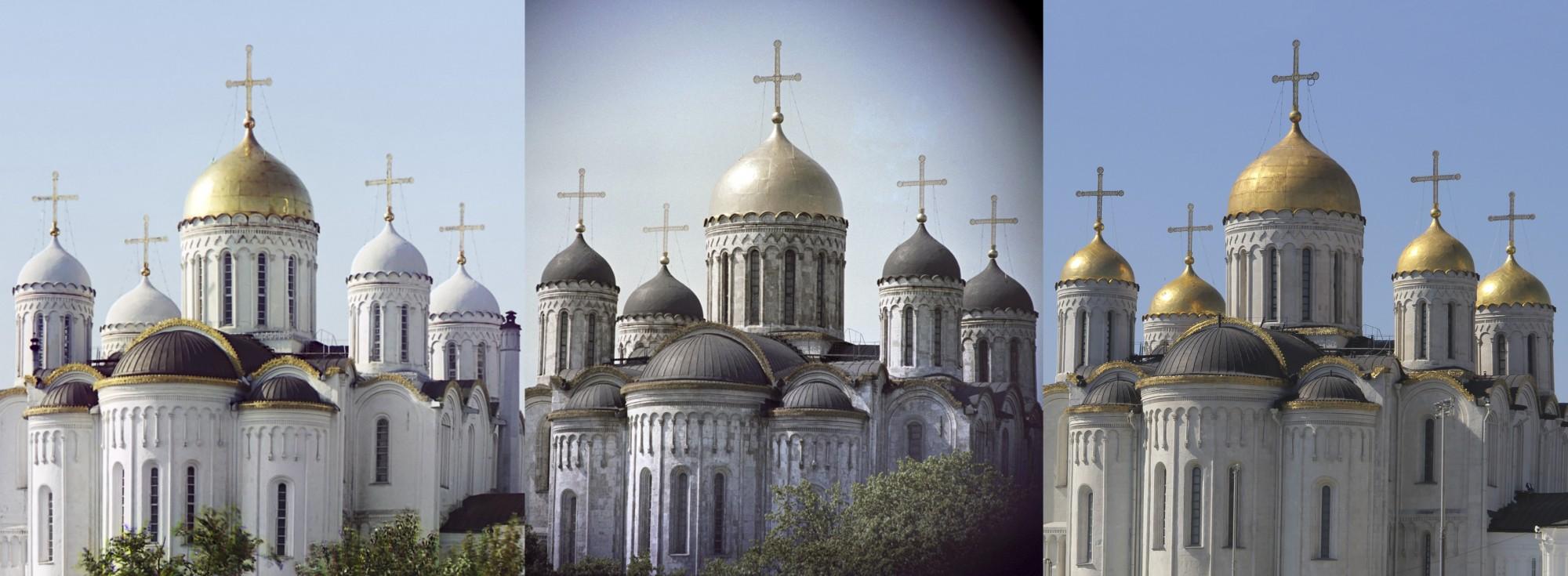 Владимир. Успенский собор 1911-1964-2013