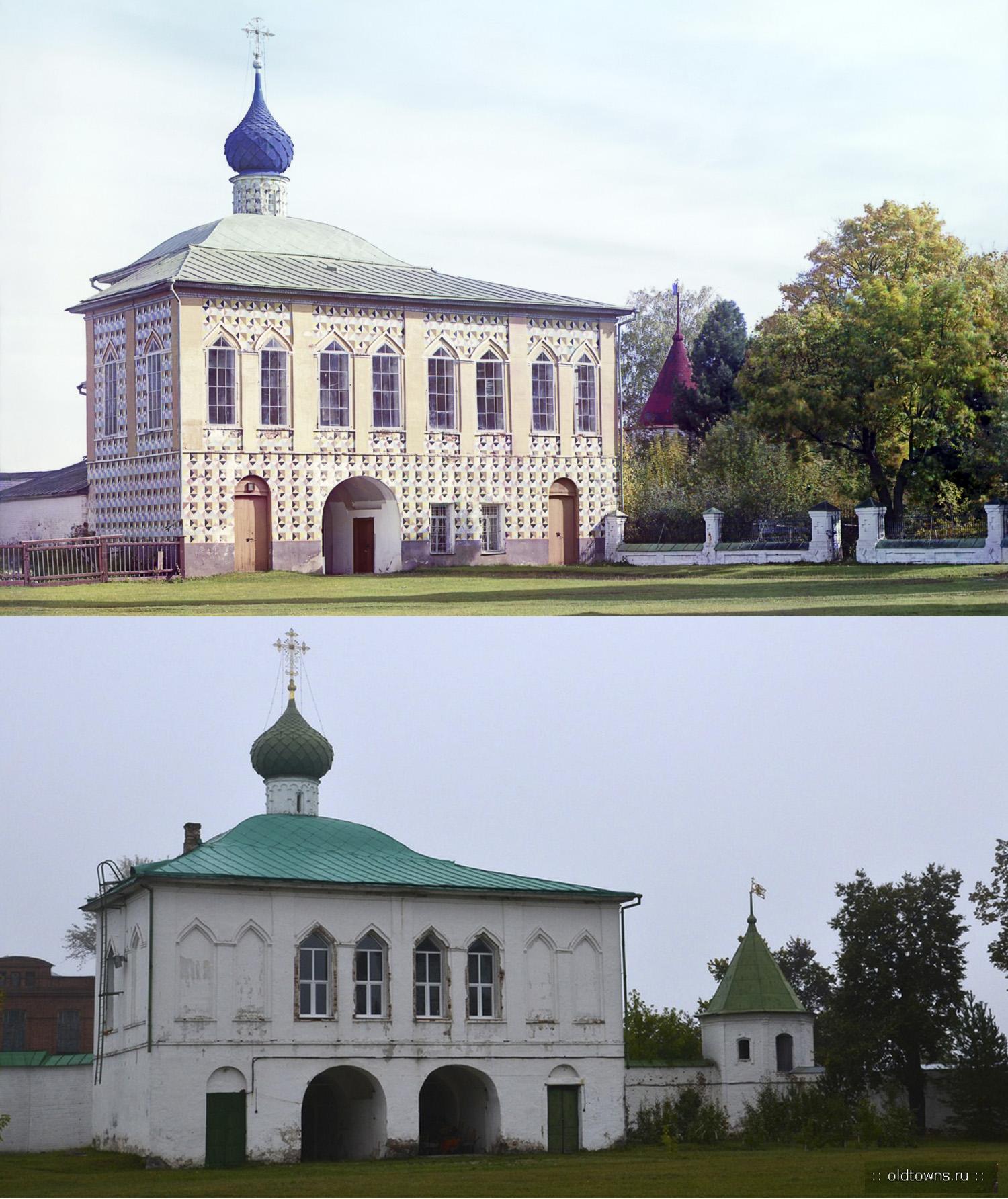 Никольская церковь в Макарьевском монастрые 1910-2014
