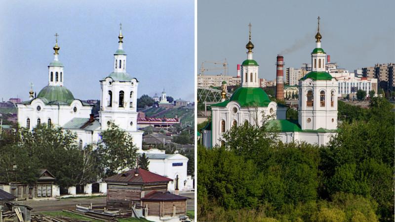 Георгиевская церковь в Тюмени 1912-2014