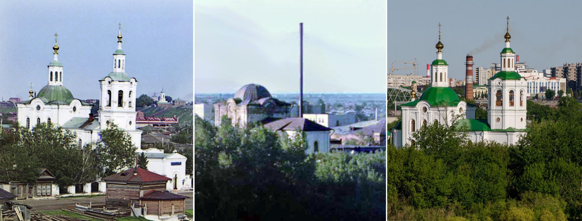 Георгиевская церковь в Тюмени 1912-1987-2014