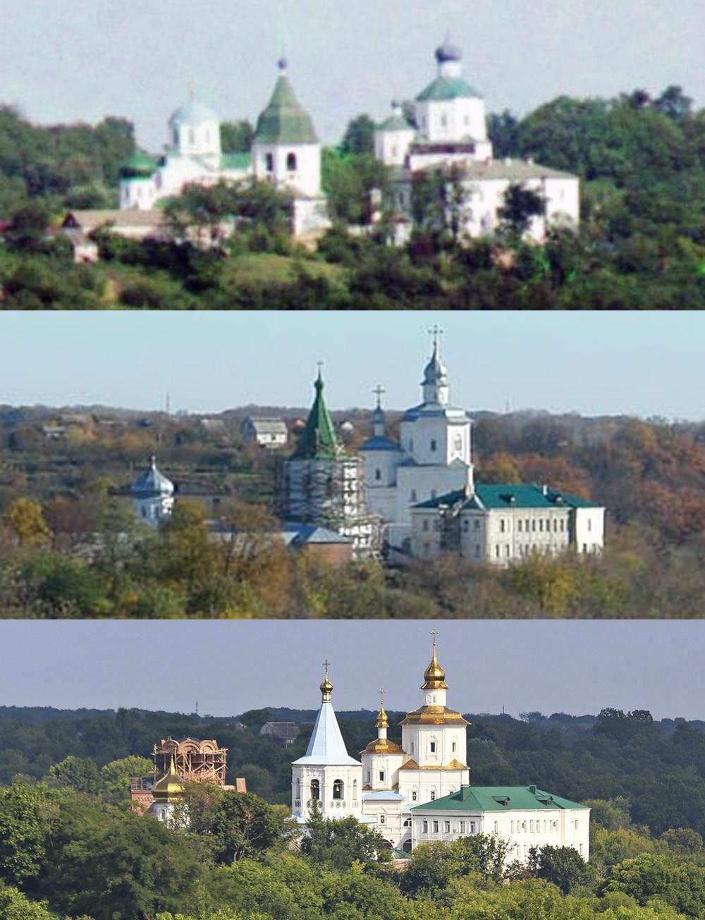 Молчанский монастырь в Путивле 1904-2009-2019