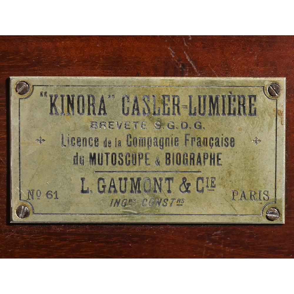 Kinora Casler-Lumiere (No. 61), 1896
