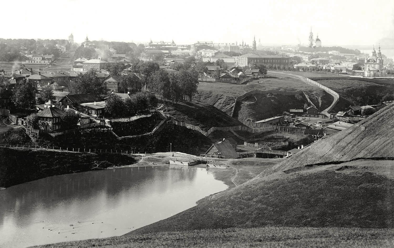 1898-1908 Вид с горок на Егошиху