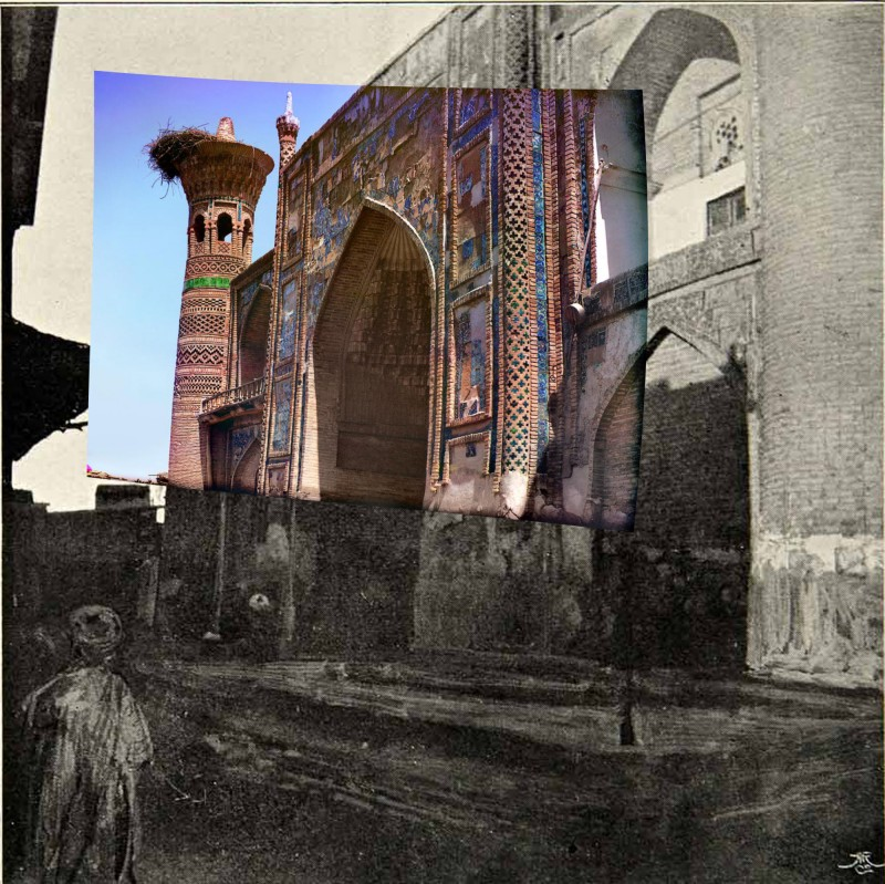 Бухара. Медресе Топчи-Баши 1909