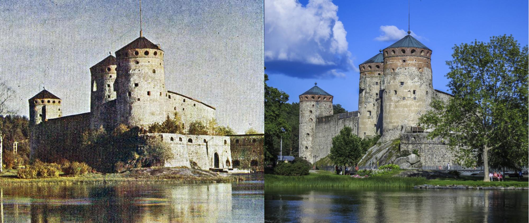 Нейшлотский замок 1904-2014