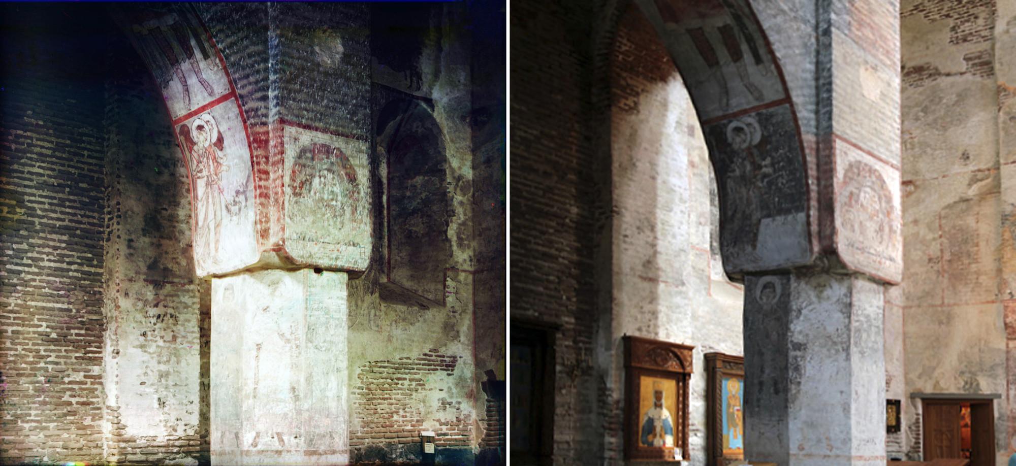 Тимотис-Убанский монастырь. Фрески в храме Успения 1912-2015