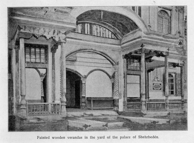 Дворец эмира в Ширбудуне
