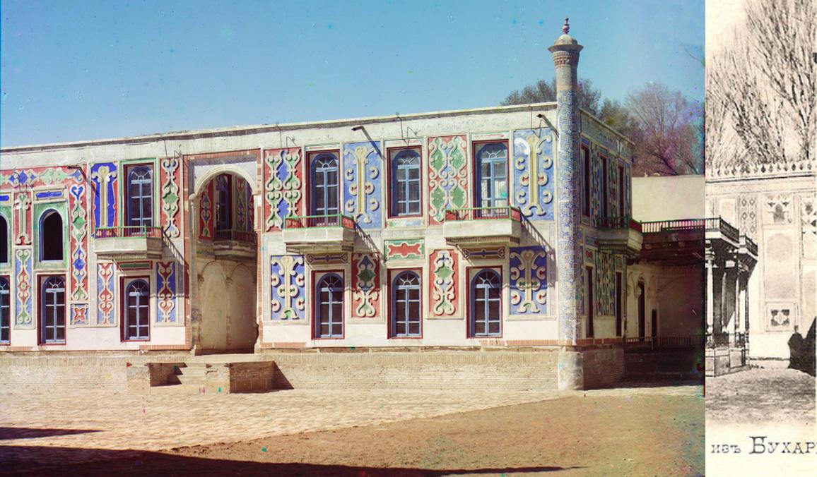 Bukhara Dvorets v zagorodnom sadu Emira Shir-Budun1