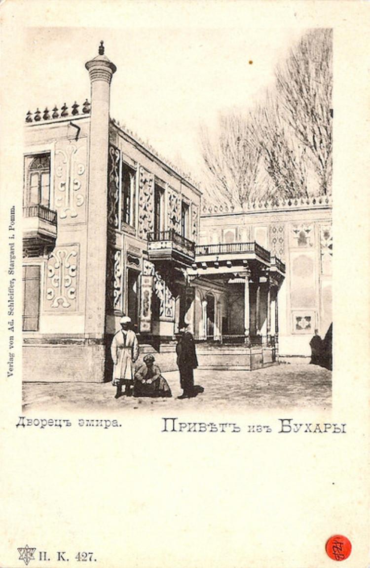 Bukhara Dvorets v zagorodnom sadu Emira Shir-Budun2