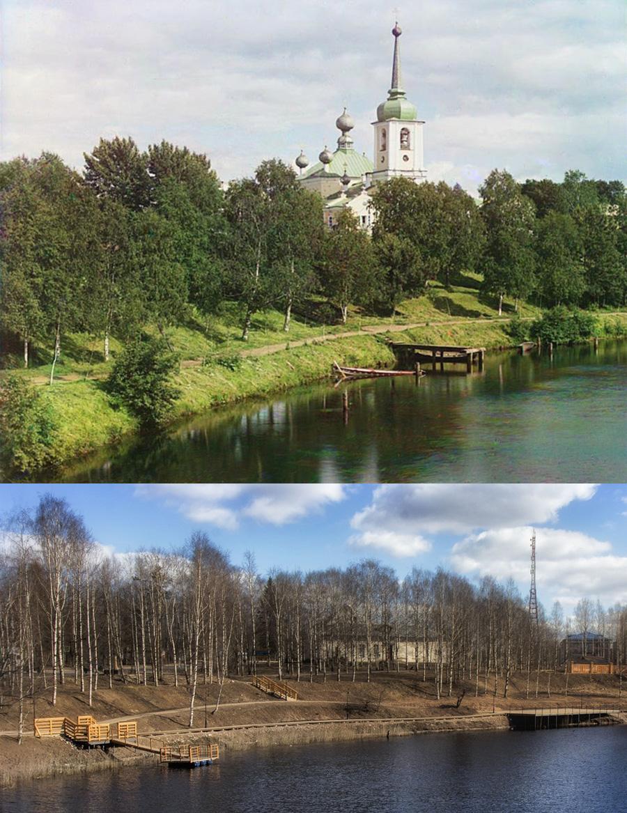 Воскресенский собор в Вытегре 1909-2020