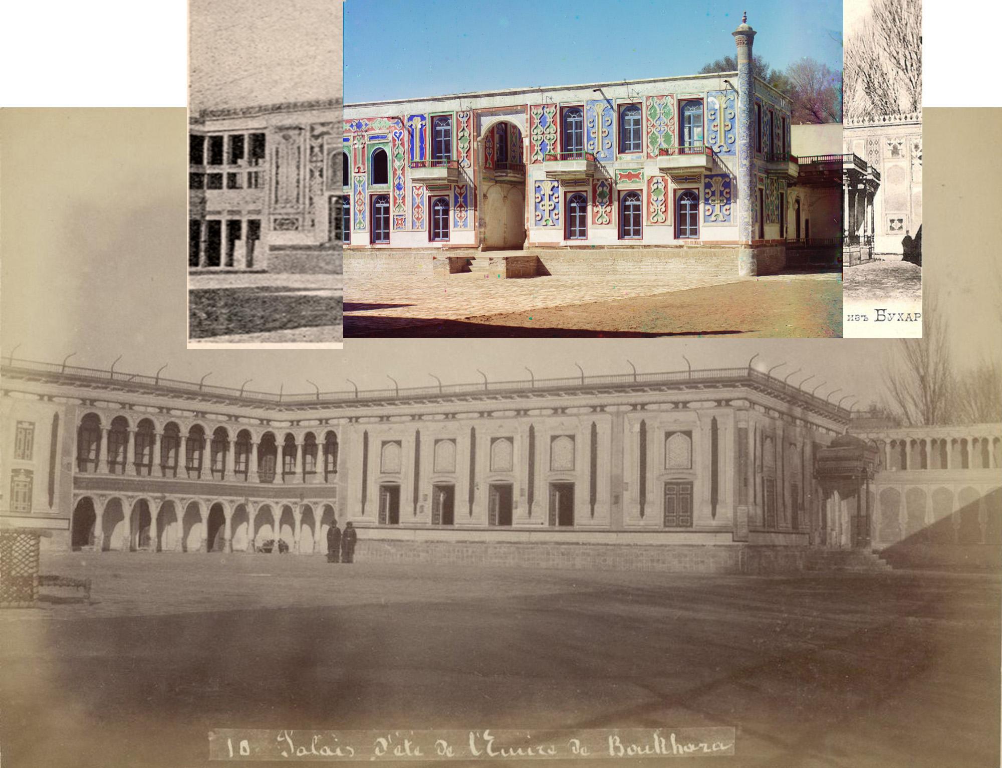 Bukhara Dvorets v zagorodnom sadu Emira Shir-Budun4