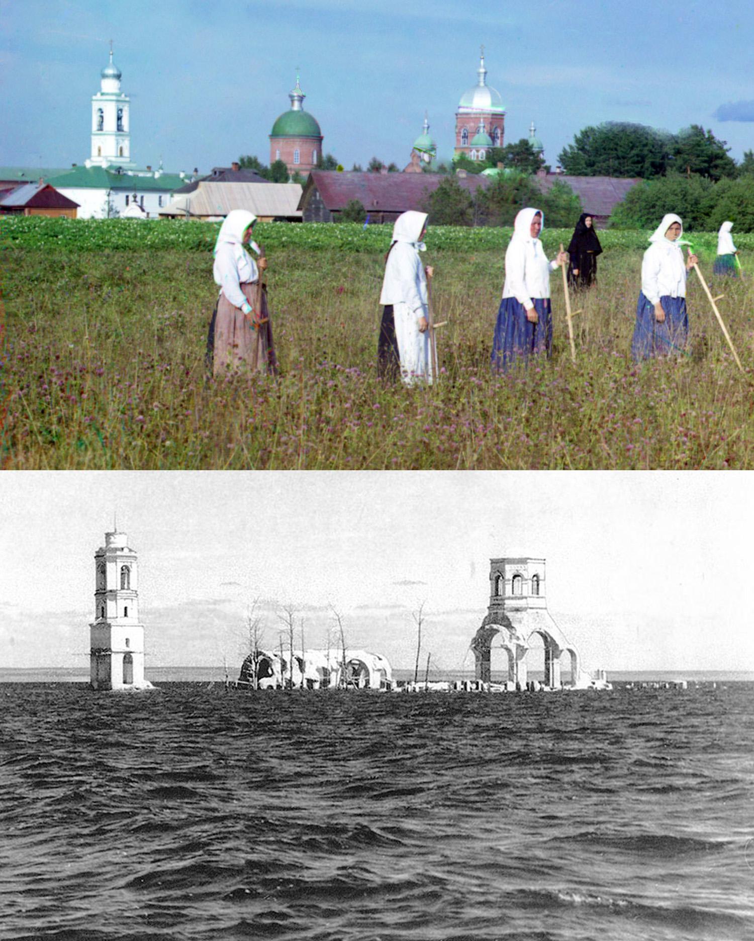 Леушинский монастырь 1909-1951