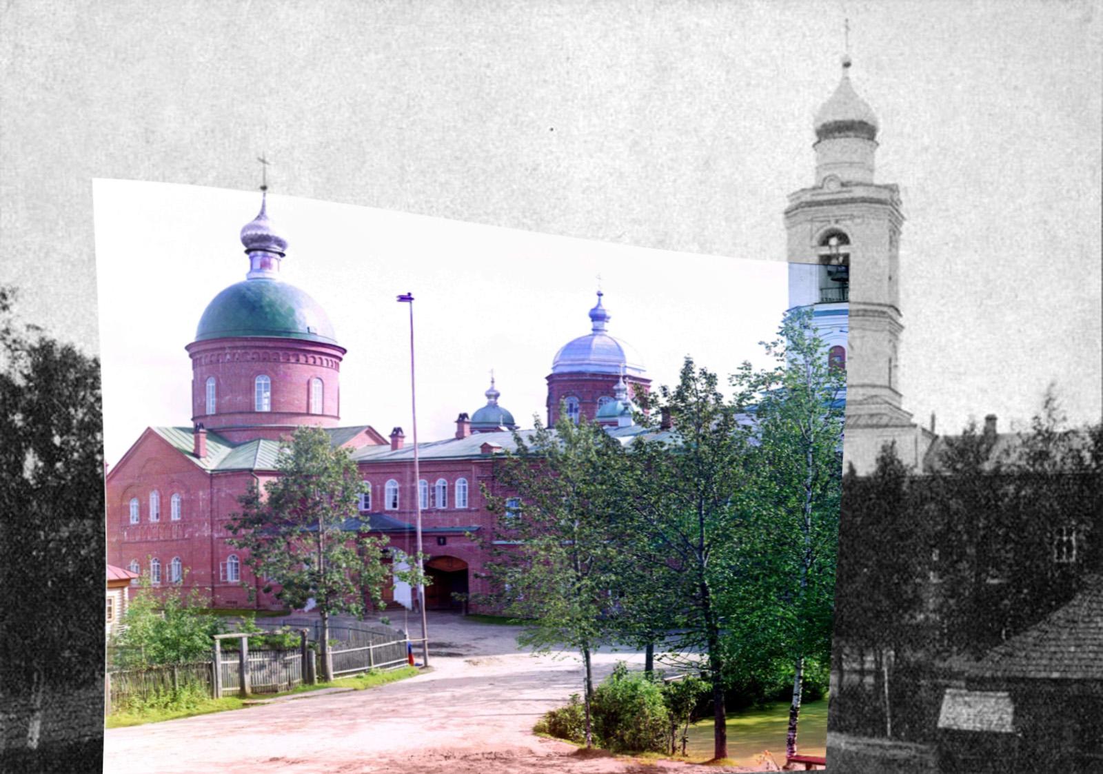 Леушинский женский монастырь. Троицкий собор 1909
