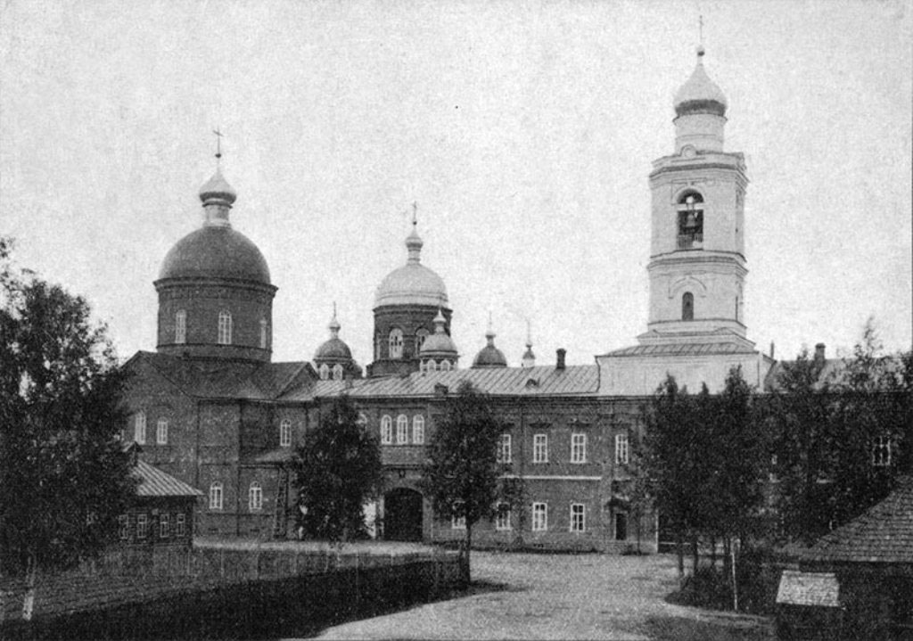 Леушинский женский монастырь. Троицкий собор