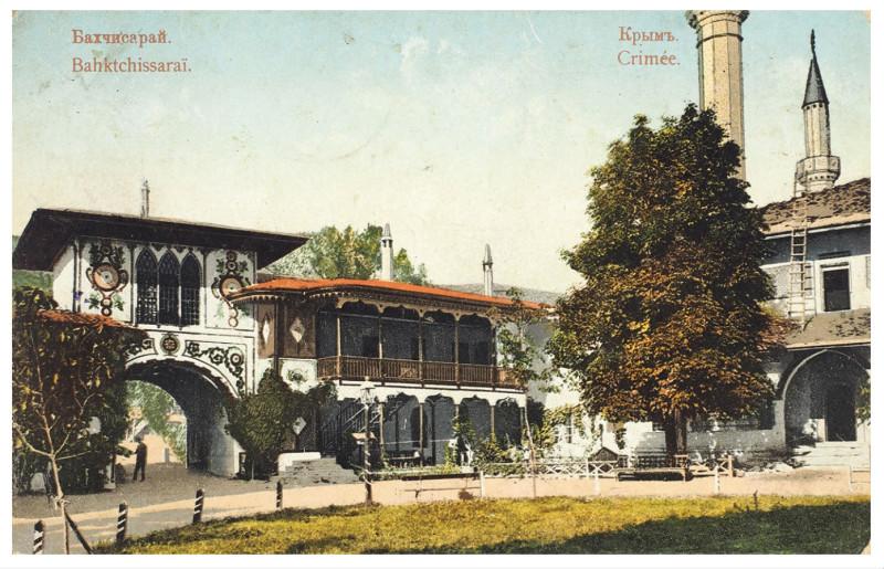 Бахчисарай. Внутренний фасад Бахчисарайского дворца2