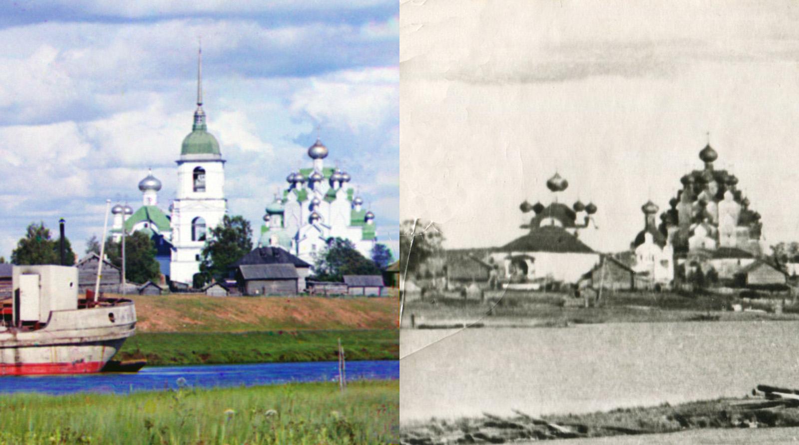 1962 На Волго-Балте с.Анхимово (Вытегорский краеведческий музей)2