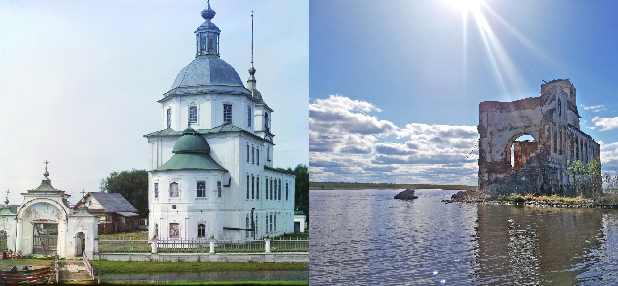 2019 Церковь во имя Рождества Христова в Крохине