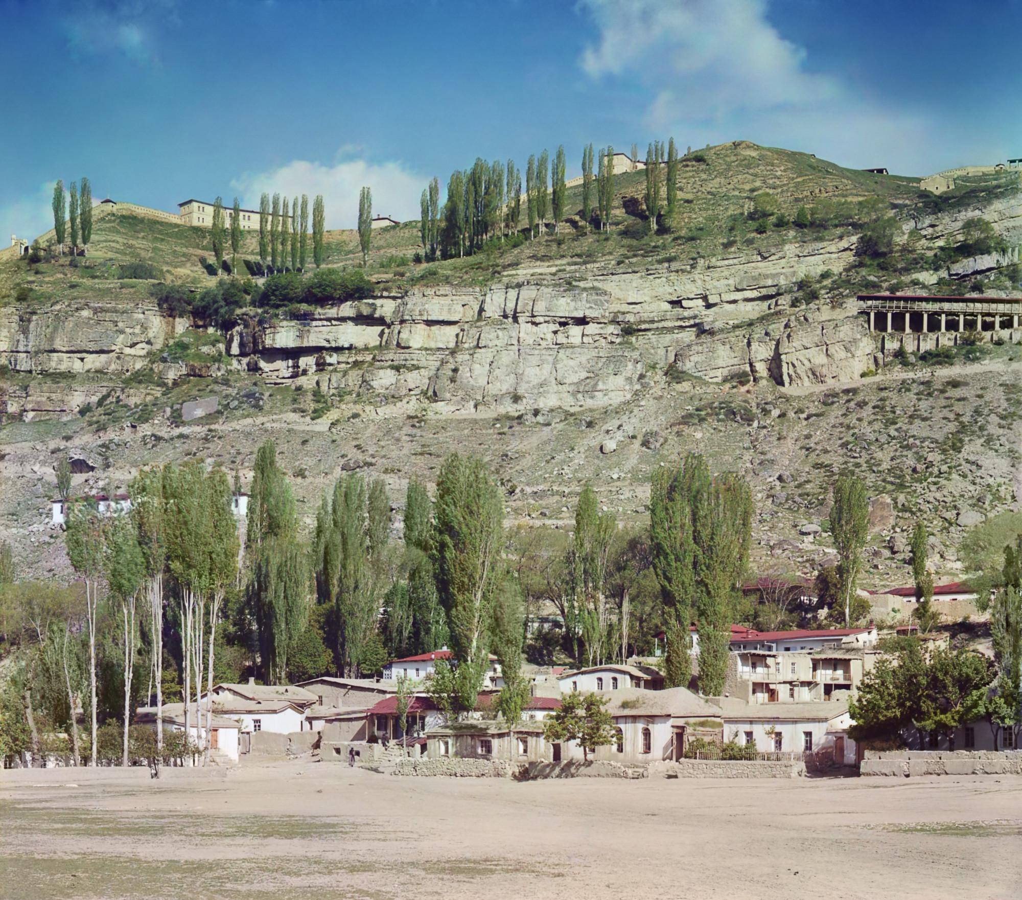 1904 Аул Нижний Гуниб в Дагестане. БХ
