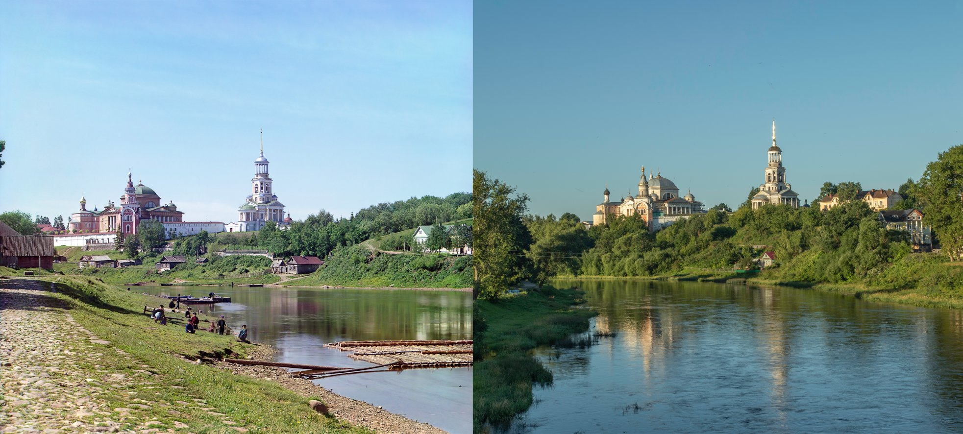 Торжок. Борисоглебский монастырь 1910-2015 Геогрий Башкин