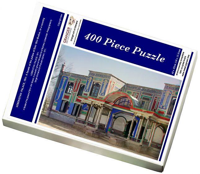 Jigsaw Puzzle of UZBEKISTAN PALACE, 1911
