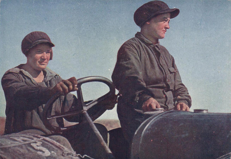 1933 Трактористка с ученицей3