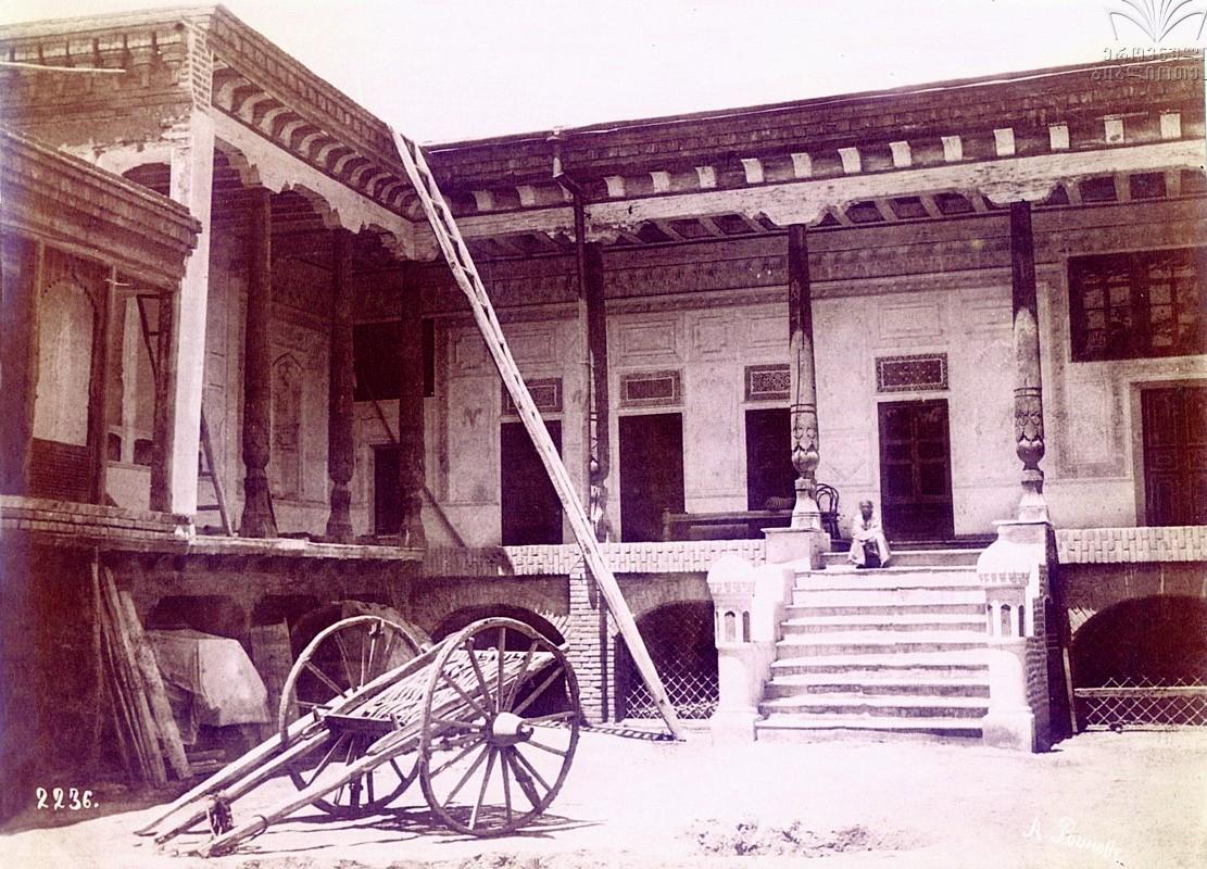 1890с Самарканд. Двор. Роинов