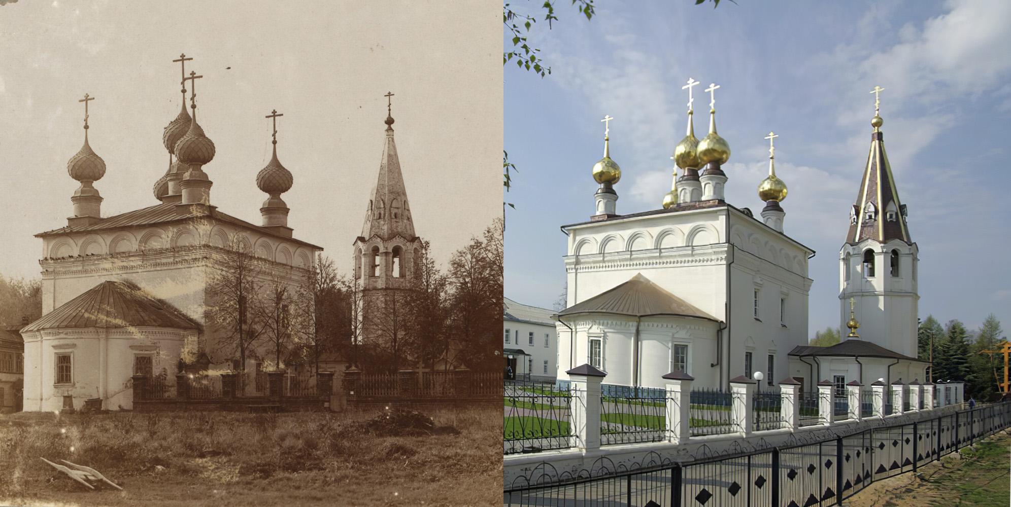 Cобор Федоровской Божьей Матери в Городецком монастыре 1910-2010е