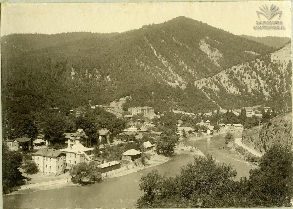 1900е Общий вид Боржома с Торского плато