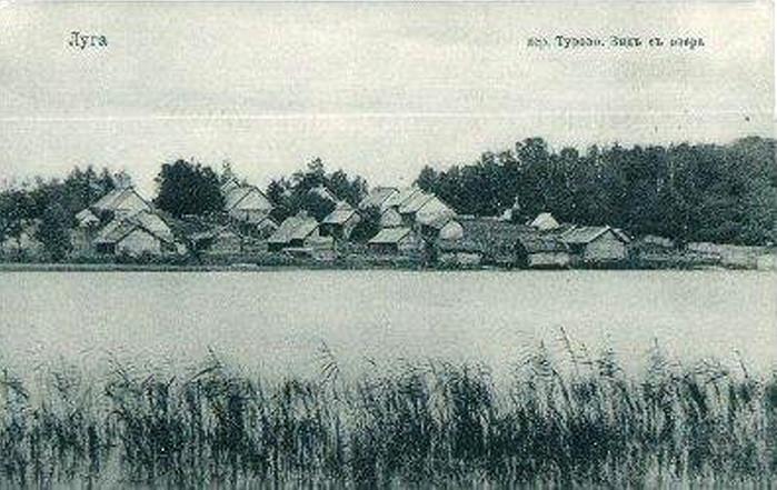 Деревня Турово. Вид с озера2
