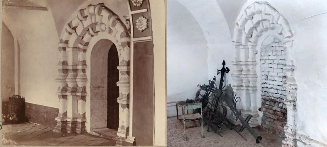 Двери церкви Воскресения в Угличе 1910-2021
