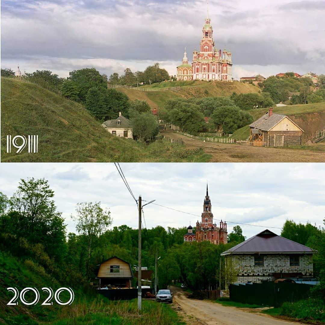 Можайск 1911-2020 из инстаграма @historyadvent