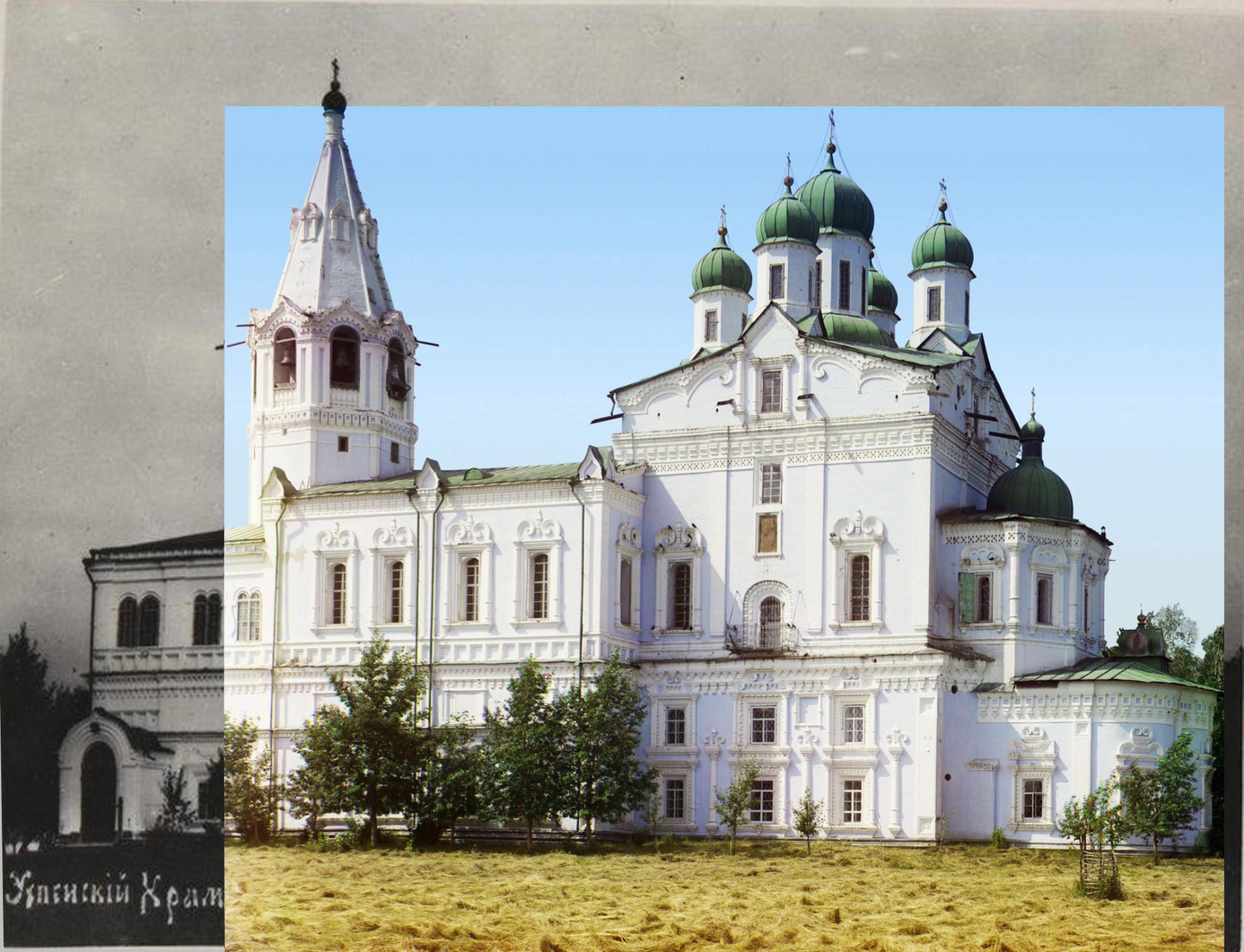 1900е Успенский собор в Далматовском монастыре1