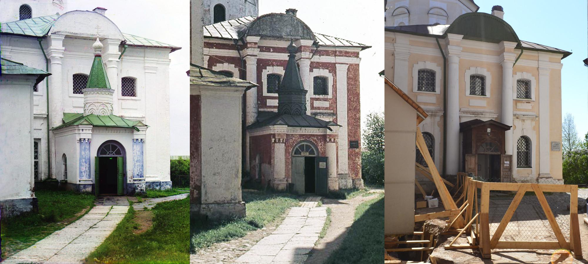 Кирилло-Белозерский монастырь 1909-1967-2011