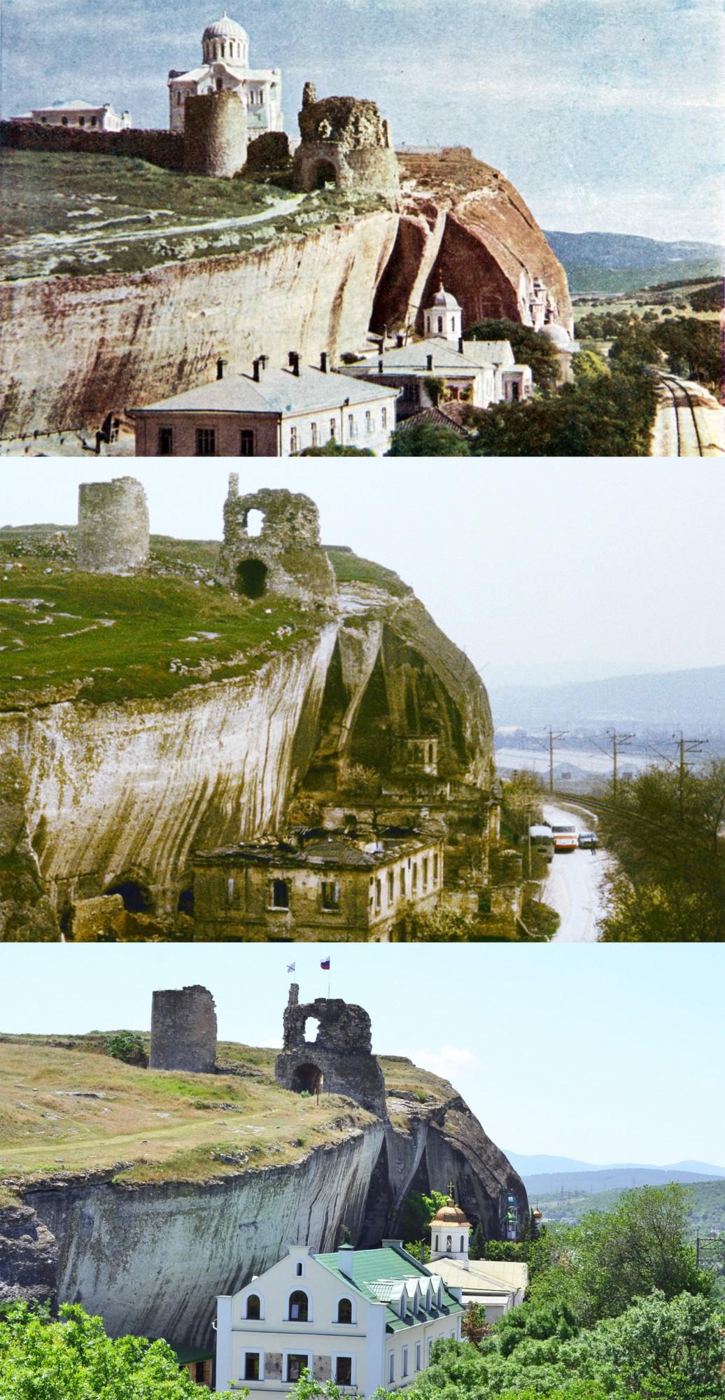 Инкерманский монастырь 1905-1990-2014