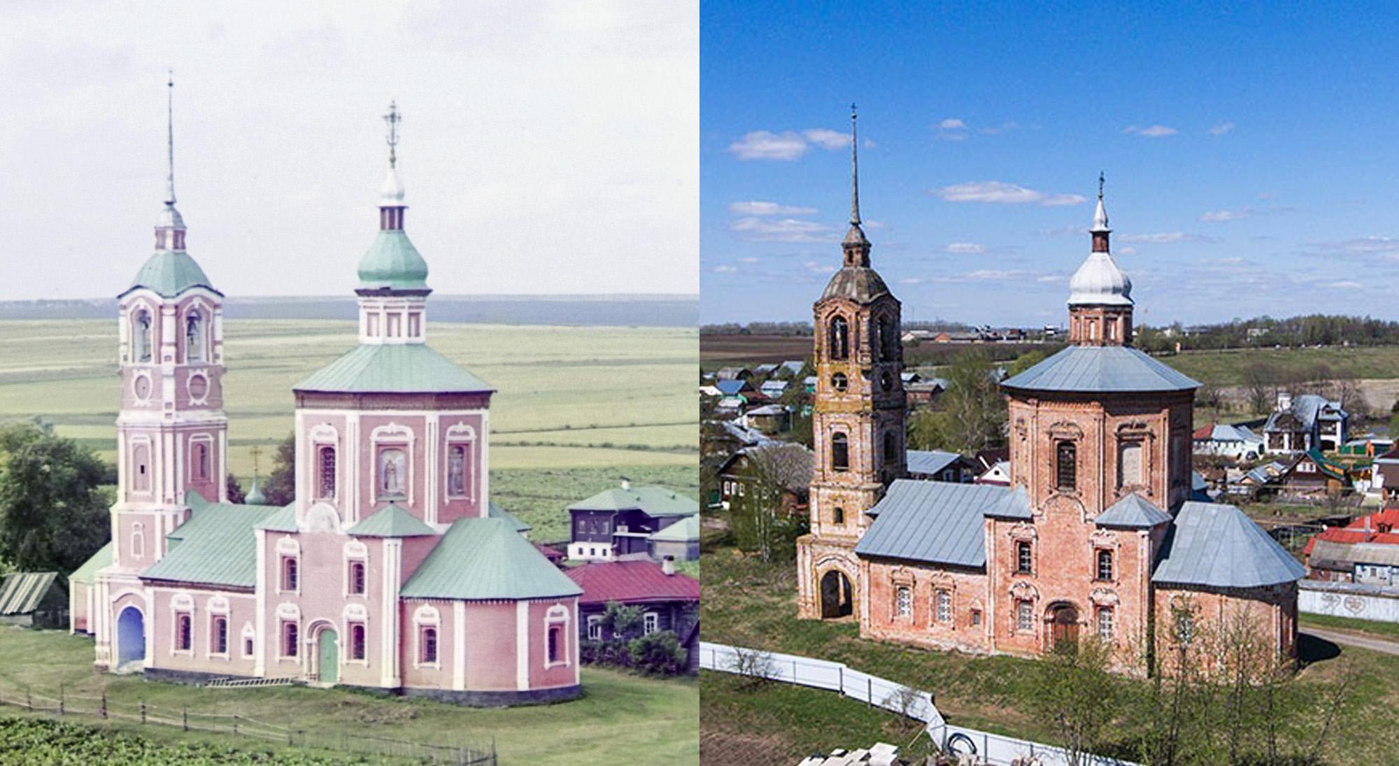 Преображение Борисоглебской церкви в Суздале