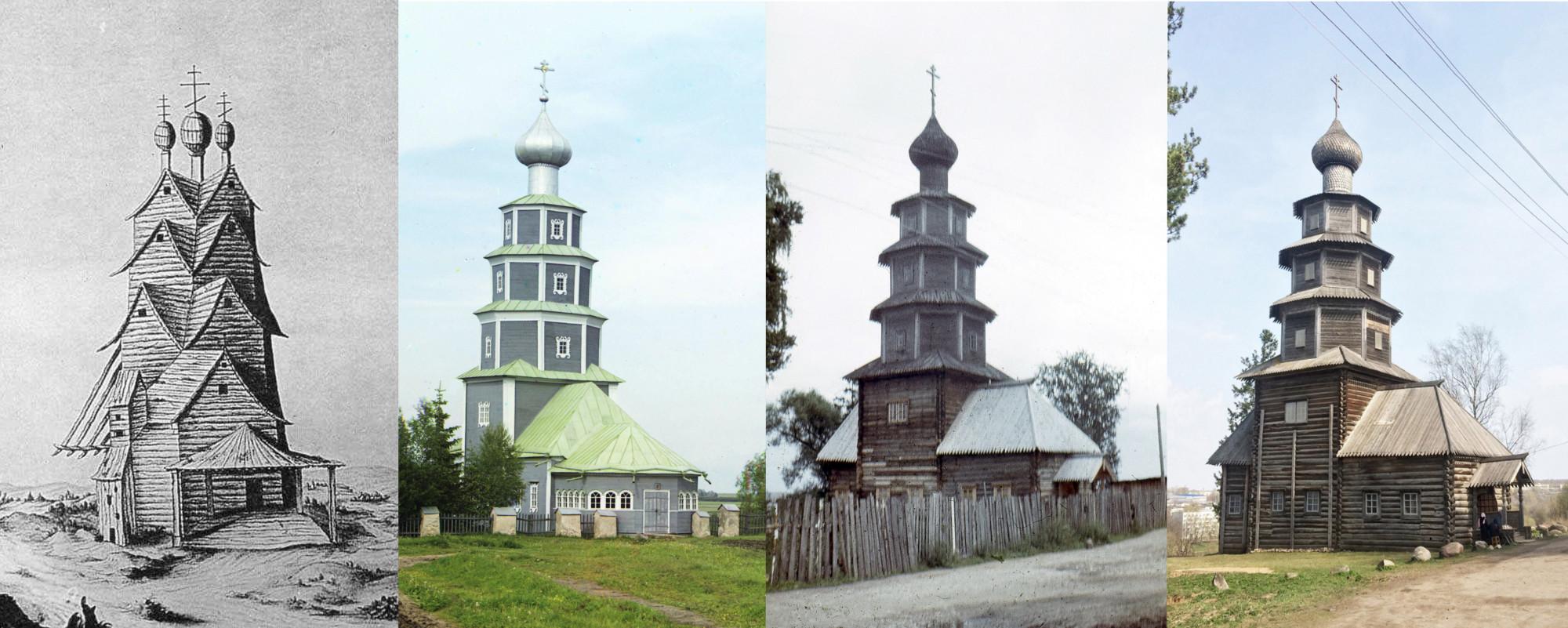 Торжок. Вознесенская церковь 1662-1910-1972-2018