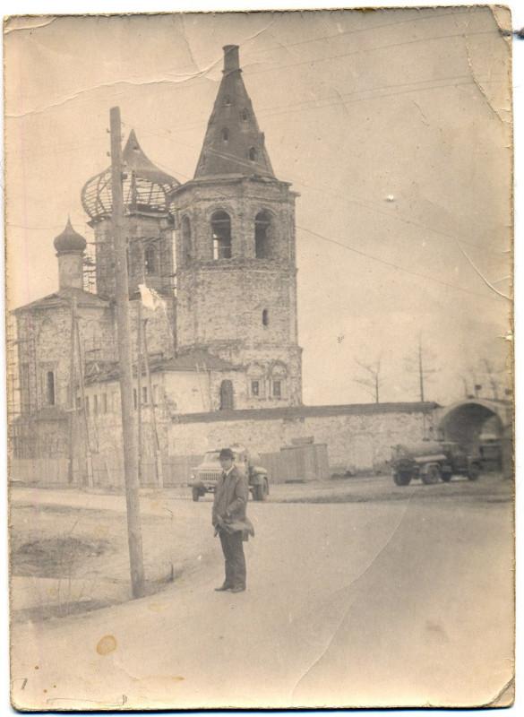 1970е начало Из архива Комиссарова А.Л. в монастыре - водозабор