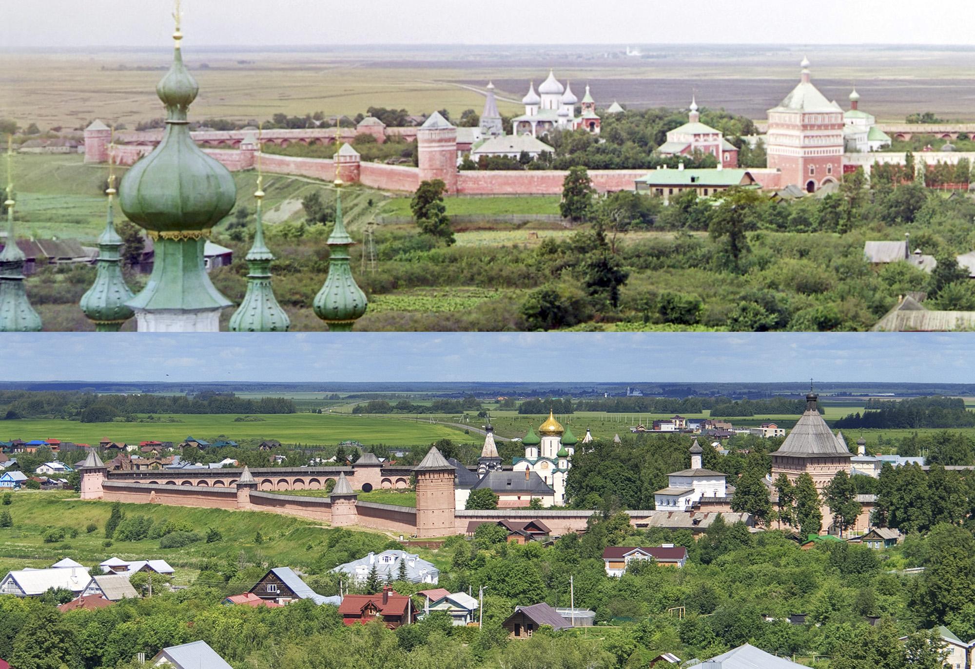 Спасо-Евфимиев монастырь сверху 1912-2017