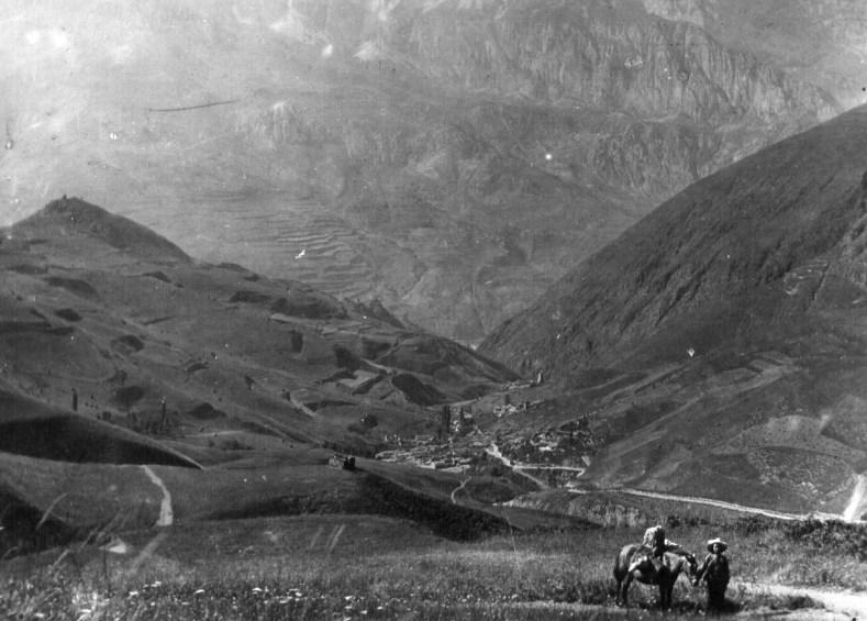 1928 год, Куртатинское ущелье