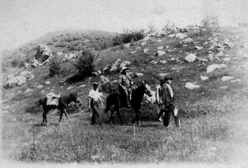 1929 год, в поисках народных песен, Южная Осетия село Бритат