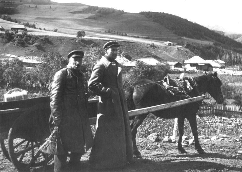 1936 год, в поисках народных песен, сел. Гуджарати