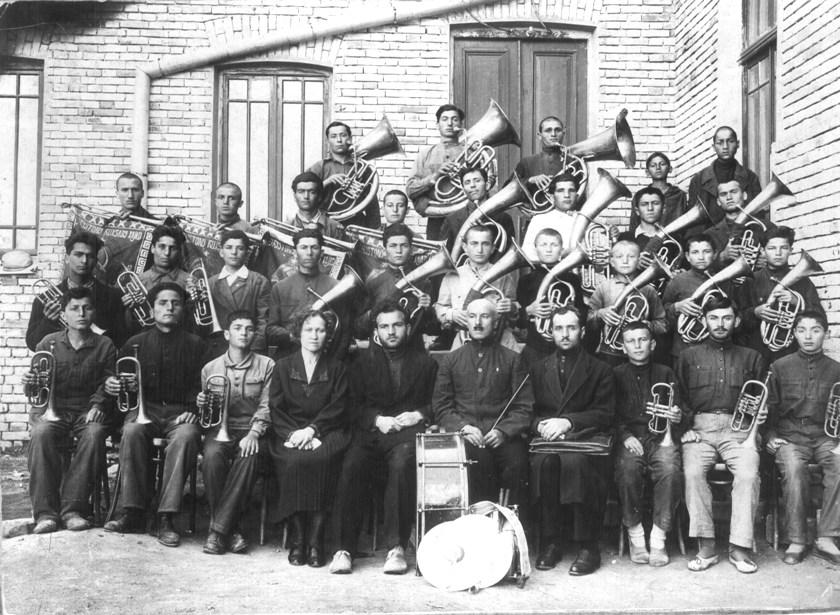 1932 год, духовой оркестр учащихся Сталинирского педтехникума