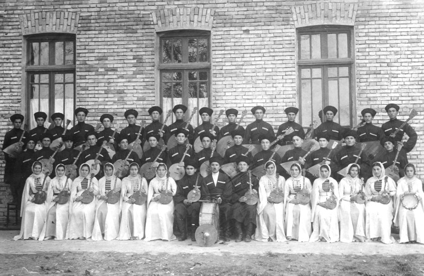 1932 год, струнный оркестр Сталинирского педтехникума