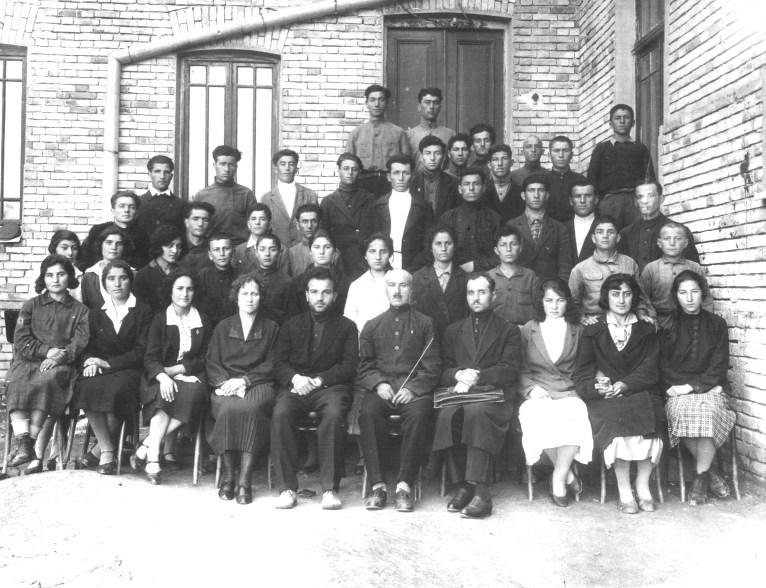 1932 год, хор Сталинирского педтехникума